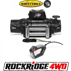 Winches & Recovery Gear - 8,000 to 16,000 lbs Electric Winches - Smittybilt - Smittybilt XRC Gen3 12K Winch with Steel Cable - 97612