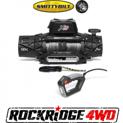 Winches & Recovery Gear - 8,000 to 16,000 lbs Electric Winches - Smittybilt - Smittybilt XRC Gen3 12K Comp Series Winch with Synthetic Cable - 98612