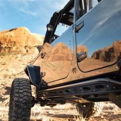Poison Spyder - Poison Spyder Rocker Knockers for 18+ Jeep Wrangler JL 4 Door - 20-08-030P1 - Image 2
