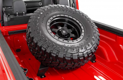 Rough Country - ROUGH COUNTRY BED MOUNTED TIRE CARRIER (2020 JEEP GLADIATOR) - Image 2