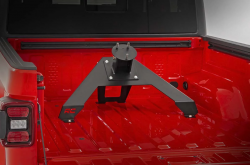 Rough Country - ROUGH COUNTRY BED MOUNTED TIRE CARRIER (2020 JEEP GLADIATOR) - Image 3