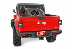 Rough Country - ROUGH COUNTRY BED MOUNTED TIRE CARRIER (2020 JEEP GLADIATOR) - Image 5