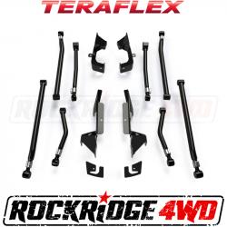 "Suspension Build Components - Control Arms & Mounts - TeraFlex - TeraFlex JK: Alpine IR Long Control Arm & Bracket Kit – 8-Arm (3-6"" Lift)"