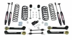 "Jeep TJ Wrangler 97-06 - TeraFlex - TeraFlex - TeraFlex TJ 3"" Suspension System w/ 4 Flexarms & 9550 Shocks"
