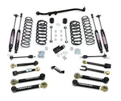 "Jeep TJ Wrangler 97-06 - TeraFlex - TeraFlex - TeraFlex TJ 4"" Suspension System w/ 8 Flexarms & 9550 Shocks"