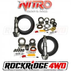 Nitro Gear & Axle - NITRO GEAR PACKAGE FOR 2007-18 Jeep Wrangler Rubicon, CHOOSE RATIO - GPJKRUBICON