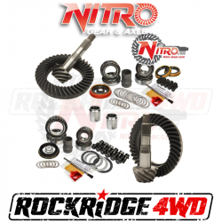Nitro Gear & Axle - NITRO Gear Package For Toyota FJ Cruiser & Tacoma with E-Locker *Select Ratio*