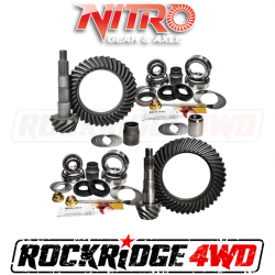 Nitro Gear & Axle - NITRO Gear Package For 98-07 Toyota Landcruiser 100 Series - WITHOUT E-Locker *Select Ratio*