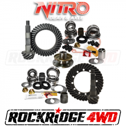 Nitro Gear & Axle - Nitro Gear Package for 1991-1997 Toyota Land Cruiser 70 & 80 Series with OEM E-locker *SELECT RATIO*
