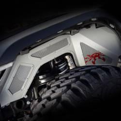 Poison Spyder - Poison Spyder Jeep JL & Gladiator JT Vented Inner Fenders - 19-02-980VP1 - Image 3