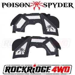Fender Flares - Jeep Wrangler JL 18+ - Poison Spyder - Poison Spyder Jeep JL & Gladiator JT Vented Inner Fenders - 19-02-980VP1