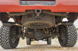 Rough Country - Rough Country DUAL CAT-BACK EXHAUST SYSTEM W/ BLACK TIPS (14-18 GM 1500 | 5.3L) - Image 4