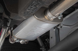 Rough Country - Rough Country DUAL CAT-BACK EXHAUST SYSTEM W/ BLACK TIPS (14-18 GM 1500 | 5.3L) - Image 5