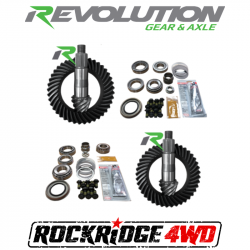 REVOLUTION GEAR - REVOLUTION GEAR JL NON-RUBICON D44/D30R GEAR PACKAGE (220MM-186MM) *SELECT RATIO*