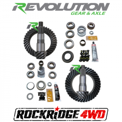 REVOLUTION GEAR - REVOLUTION GEAR JL NON-RUBICON D35/D30R GEAR PACKAGE (200MM-186MM) *SELECT RATIO*