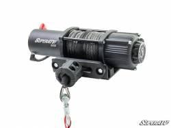 SuperATV - SuperATV 5000 Lb. Black Ops UTV/ATV Synthetic Rope Winch