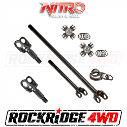 4340 Chromoly Axle Shafts - Dana 44 - Nitro Gear & Axle - Nitro HD Chromoly Front Axle Kit for 18+ Mahindra Roxor