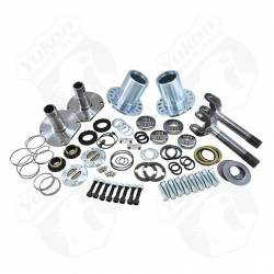 """Differential & Axle - Locking Hubs / Drive Flanges - Yukon Gear & Axle - Spin Free Locking Hub Conversion Kit for Dana 30 TJ, XJ, YJ, 27 Spline, 5 x 4.5"""""""