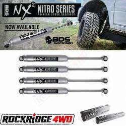 "BDS Suspension - BDS NX2 Series Shocks for 94-98 Ford F250 / F350 4WD w/ 0-2"" of Lift *Set of 4*"