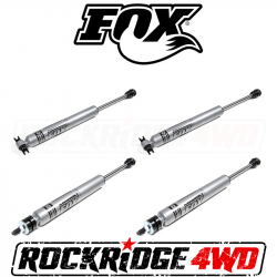 "Fox Shocks - Fox 2.0 Adventure Series Shocks for 99-04 Jeep Grand Cherokee WJ | w/ 4"" Lift"