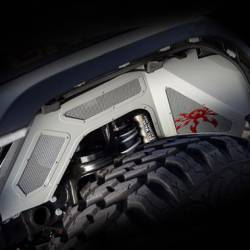 Poison Spyder - Poison Spyder JL Vented Front Inner Fenders for 18+ Jeep Wrangler JL | 20+ Gladiator JT - 19-02-980VP1