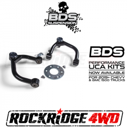 4WD - 2019-2020 - BDS Suspension - BDS Upper Control Arm (UCA) Kit for 19-20 CHEVY / GMC 1500 PICKUP 2WD/4WD
