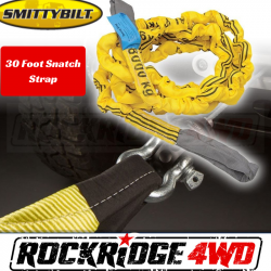 """Winches & Recovery Gear - Recovery Gear - Smittybilt - Smittybilt Snatch Strap 2.375"""" X 30' 