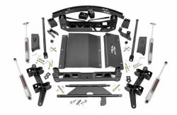 "CHEVY / GMC - 1988-98 Chevy / GMC 1/2 Ton Pickup - Rough Country - Rough Country 1988-1998 Chevy / GMC 1500 Pickup SUV 6"" Suspension Lift Kit  - 27630"