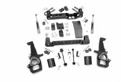"2006-08 Dodge 1/2 Ton Pickup - Rough Country - Rough Country - Rough Country 2006-2008 Dodge Ram 4WD 1500 4"" Suspension Lift Kit - 32630"