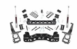 2009-16 Ford F150 - ROUGH COUNTRY - Rough Country - Rough Country 4IN FORD SUSPENSION LIFT KIT (11-14 F-150) - 57230