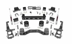 2009-16 Ford F150 - ROUGH COUNTRY - Rough Country - ROUGH COUNTRY 6IN FORD SUSPENSION LIFT KIT (15-20 F-150 2WD) - 55330