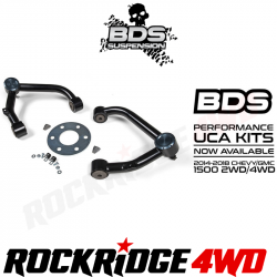 4WD - 2014-2018 - BDS Suspension - BDS UPPER CONTROL ARM KIT | 2014-2018 CHEVY/GMC 1500