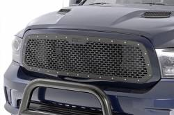 Grille - Rough Country - Rough Country DODGE MESH GRILLE (13-18 RAM 1500)