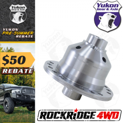 "Toyota - 8"" Standard Rotation 3rd Member 4 Cyl. / V6 / Turbo - Yukon Gear & Axle - Yukon Grizzly Locker for Toyota V6, Hilux, Pickup, FJ80"