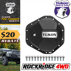 """Differential Covers & Armor - Chevy / GMC - Yukon Gear & Axle - Yukon Nodular Iron Cover for GM14T with 3/8"""" Bolts"""