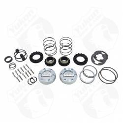 Differential & Axle - Locking Hubs / Drive Flanges - Yukon Gear & Axle - Yukon Hardcore Locking Hub Set Dana 44 GM & Ford 1/2 & 3/4 ton 19-Spl