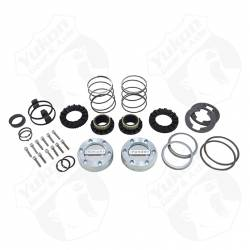 Differential & Axle - Locking Hubs / Drive Flanges - Yukon Gear & Axle - Yukon Hardcore Locking Hub Set GM 8.5? Front & Dana 44 19-Spl