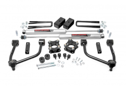 2000-20Toyota Tundra - Rough Country - Rough Country - ROUGH COUNTRY 3.5IN TOYOTA BOLT-ON LIFT KIT (07-20 TUNDRA 2WD/4WD)