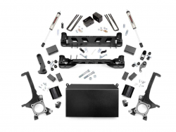 2000-20Toyota Tundra - Rough Country - Rough Country - ROUGH COUNTRY 4IN TOYOTA SUSPENSION LIFT KIT (16-20 TUNDRA 4WD/2WD)