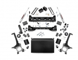 2000-20Toyota Tundra - Rough Country - Rough Country - ROUGH COUNTRY 6IN TOYOTA SUSPENSION LIFT KIT (16-20 TUNDRA 4WD/2WD) *Select Options*