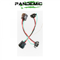 LED LIGHTING - LED TAIL LIGHTS & CONVERSION'S - Pandemic - Pandemic 2007-18 Jeep Wrangler JK Taillight Conversion Plug-n-Play Adapter Harness | SOLD INDIVIDUALLY