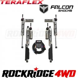 "TeraFlex JL 2dr: Falcon SP2 3.5 aDAPT e-Adjust Piggyback Shock Kit (2-4.5"" Lift)"