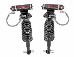 2007-13 Chevy / GMC 1/2 Ton Pickup - Rough Country - Rough Country - ROUGH COUNTRY GM FRONT ADJUSTABLE VERTEX COILOVERS (07-18 SILVERADO/SIERRA 1500 | FOR 2IN LIFTS)