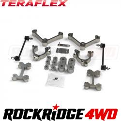 "Suspension & Components - JEEP - TeraFlex - Teraflex BU Renegade | MP Compass 1.5"" Performance Spacer Lift Kit - 1351200"