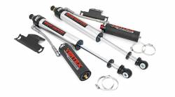 2005-20 Toyota Tacoma - Rough Country - Rough Country - Rough Country TOYOTA TACOMA (05-20) REAR ADJUSTABLE VERTEX SHOCKS (PAIR) | 3IN LIFTS)