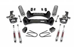 2002-05 Dodge 1/2 Ton Pickup - Rough Country - Rough Country - ROUGH COUNTRY 6IN 02-05 DODGE 2WD SUSPENSION LIFT KIT - 37630