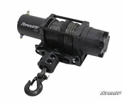 SuperATV - SuperATV 6000 Lb. Black Ops UTV/ATV Synthetic Rope Winch