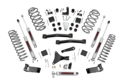 """Rough Country 4"""" Suspension Lift Kit for 1999-2004 Grand Cherokee WJ - 698.20"""