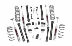 """Rough Country 1993-1998 Jeep ZJ Grand Cherokee 4"""" Series II Suspension Lift Kit  - 900.20"""