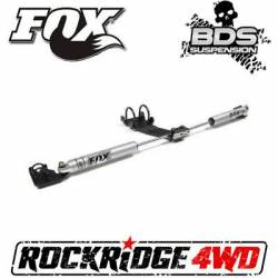 BDS | FOX 2.0 DUAL STEERING STABILIZER KIT FOR 94-01 DODGE RAM 1500 | 2500 4WD